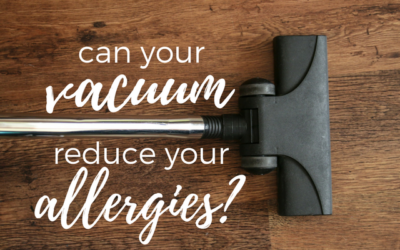 Can Your Vacuum Reduce Your Allergies?