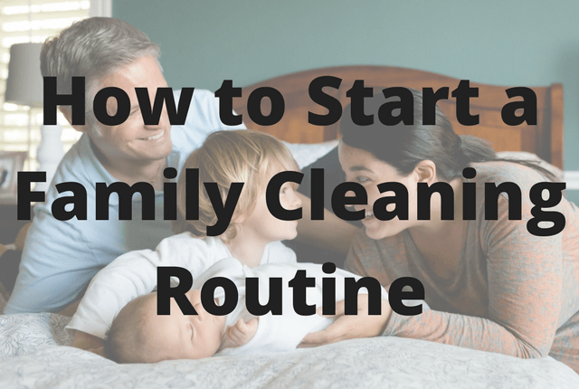 How To Start A Family Cleaning Routine North American