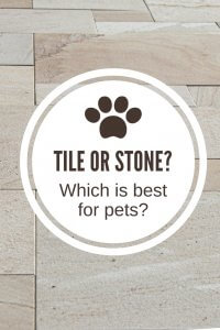 Tile Or Stone What S Best For Pets North American Chem Dry