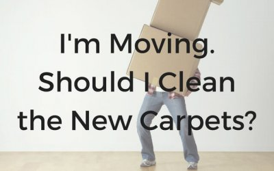 I'm Moving, Should I Clean My Carpets?