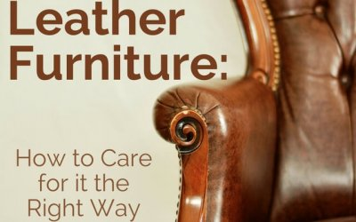 Leather Furniture: How to Care for it the Right Way