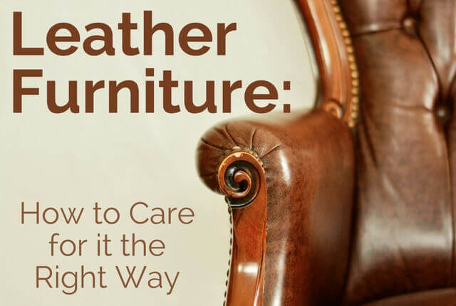 Leather Furniture: How To Care For It The Right Way   North American  Chem Dry
