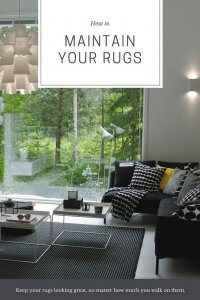 How to Maintain Your Rugs no matter how much you walk on them