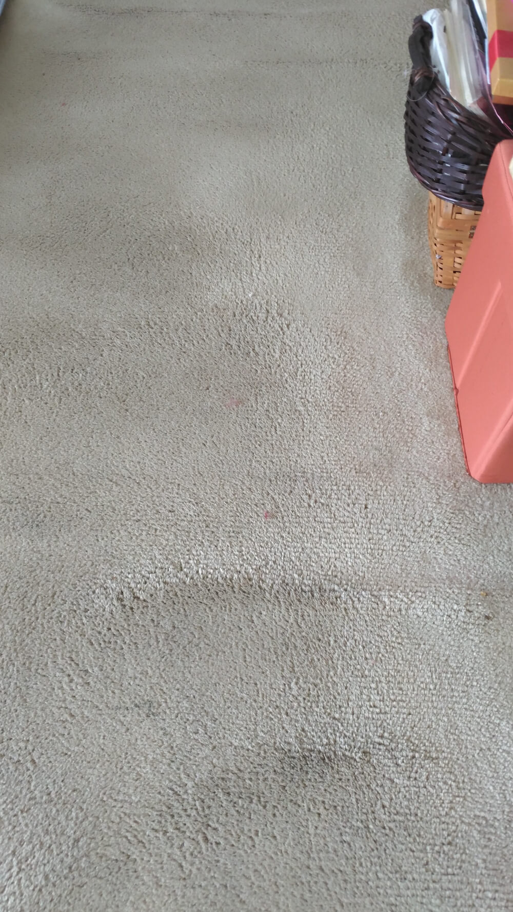 after shot of a carpet cleaning case