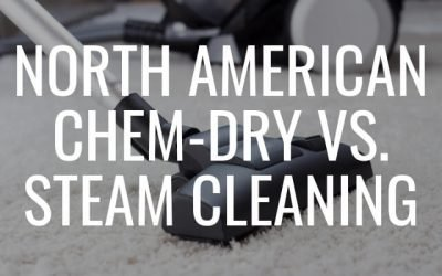 North American Chem-Dry vs. Steam Cleaning