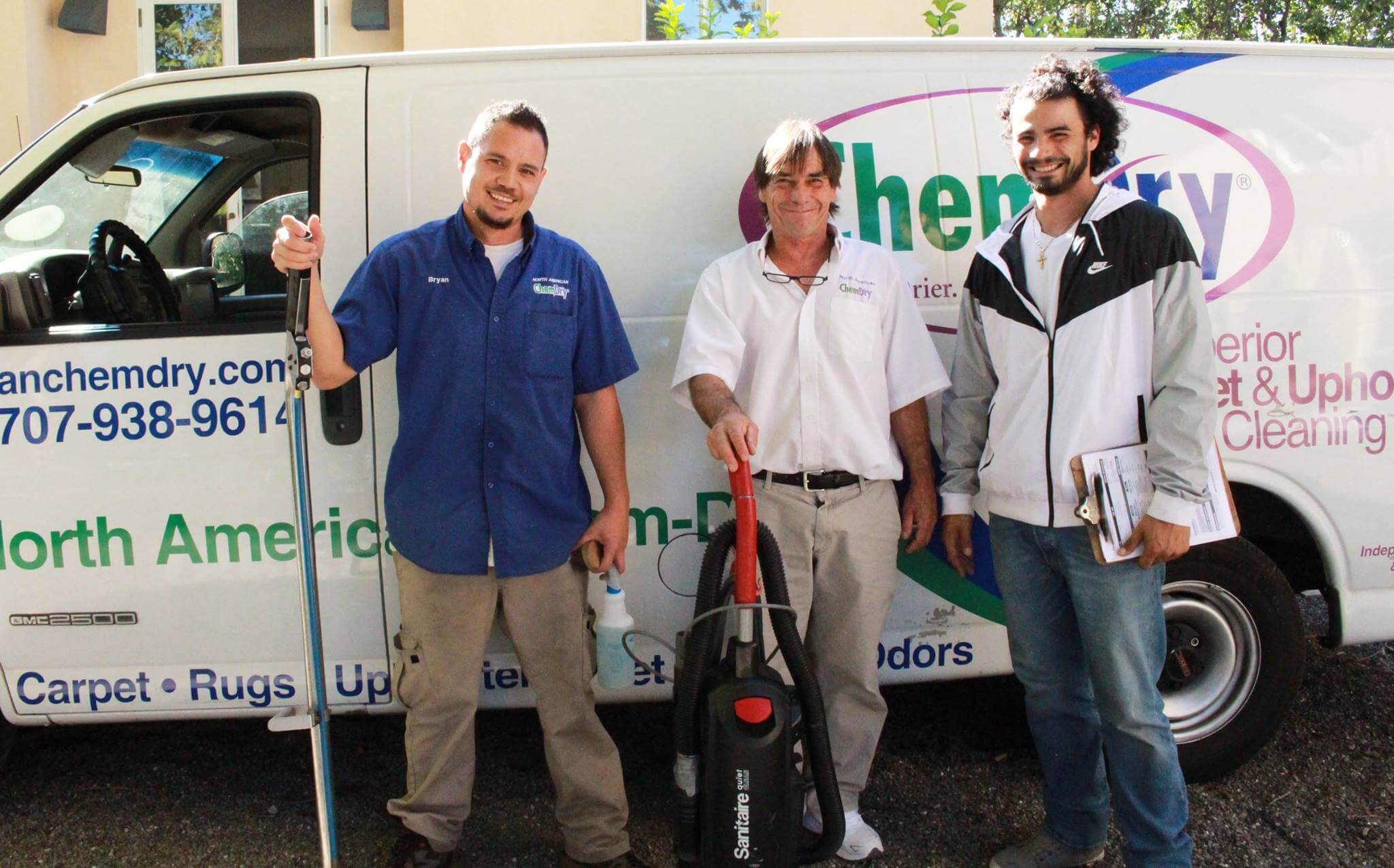 The Sonoma County carpet cleaning team