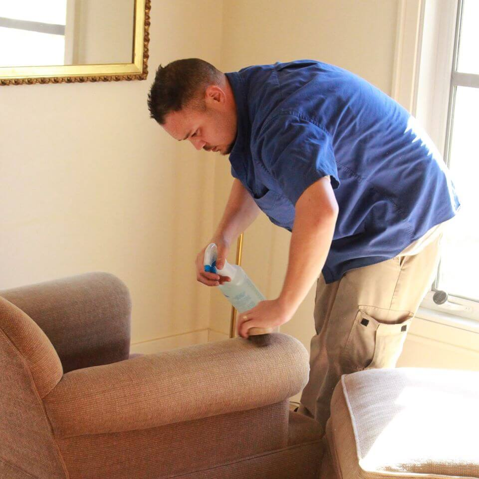 upholstery cleaner in sonoma home