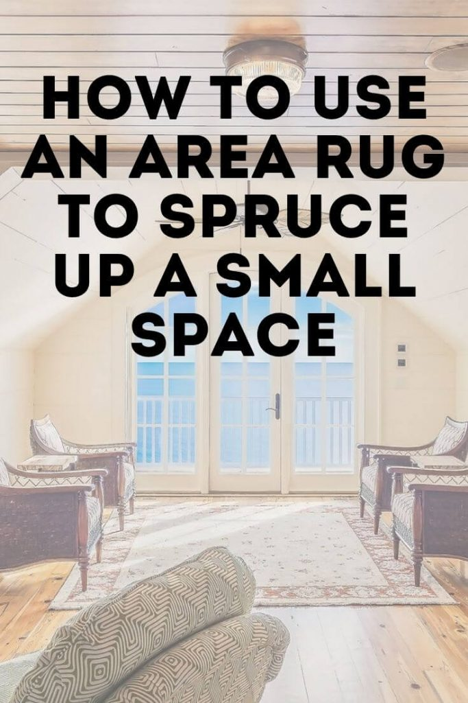 How To Use An Area Rug Spruce Up A Small E North