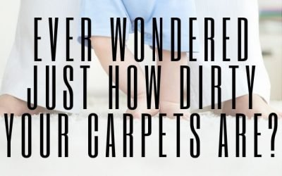 Ever Wondered Just How Dirty Your Carpets Are?
