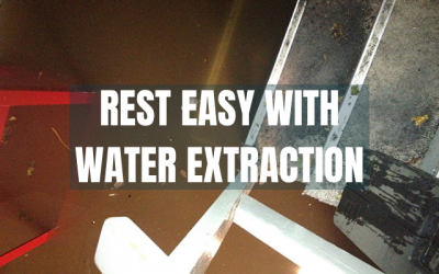 Rest Easy with Chem-Dry Water Extraction