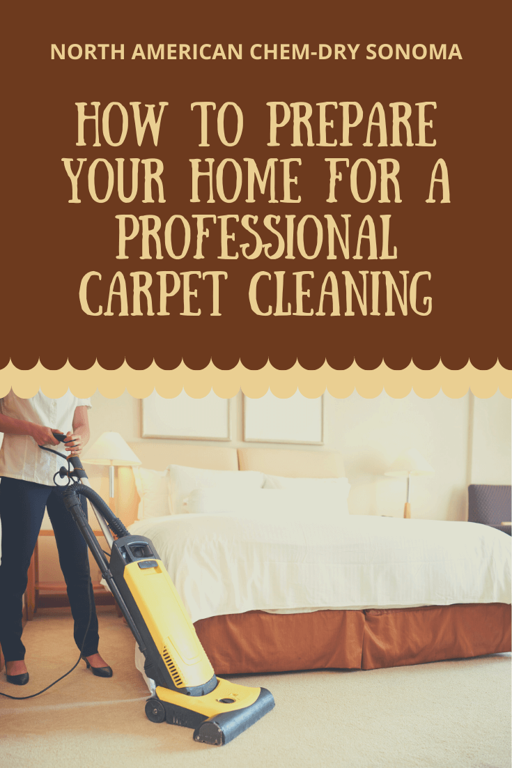 How to prepare for a professional carpet cleaning